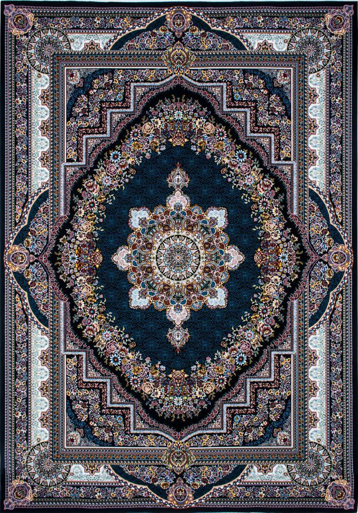 فرش بهشت سرمه ای پرمیس 1