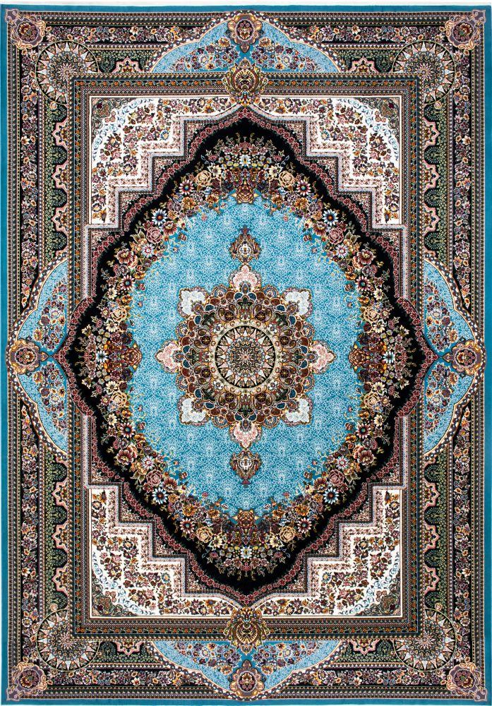 فرش بهشت آبی پرمیس