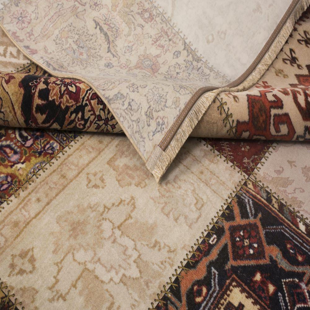 فرش فانتزی کلاریس 100220 تمام رنگ-5