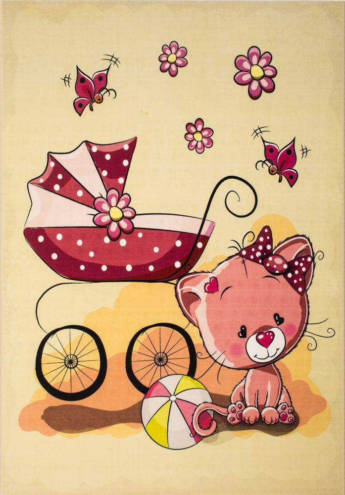 فرش کودک کلاریس100283 تمام رنگ