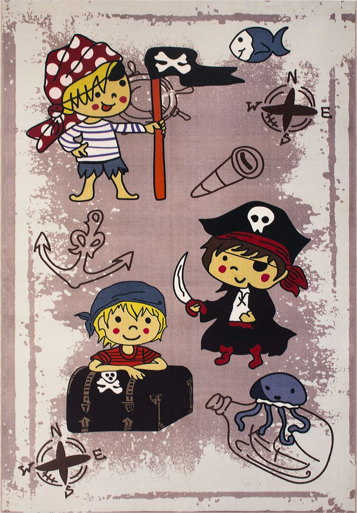 فرش کودک 100366 تمام رنگ