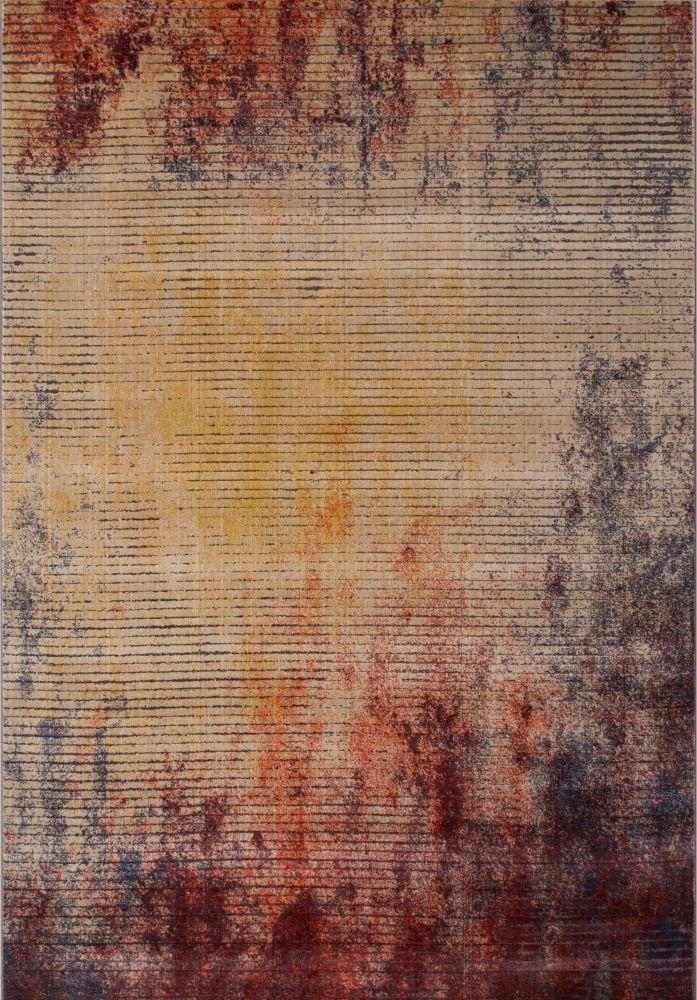 فرش مدرن کهنه نما 1012-1