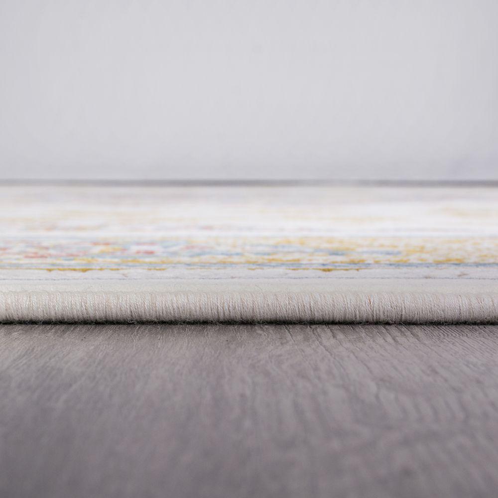 فرش ماشینی 1303 سفید 5