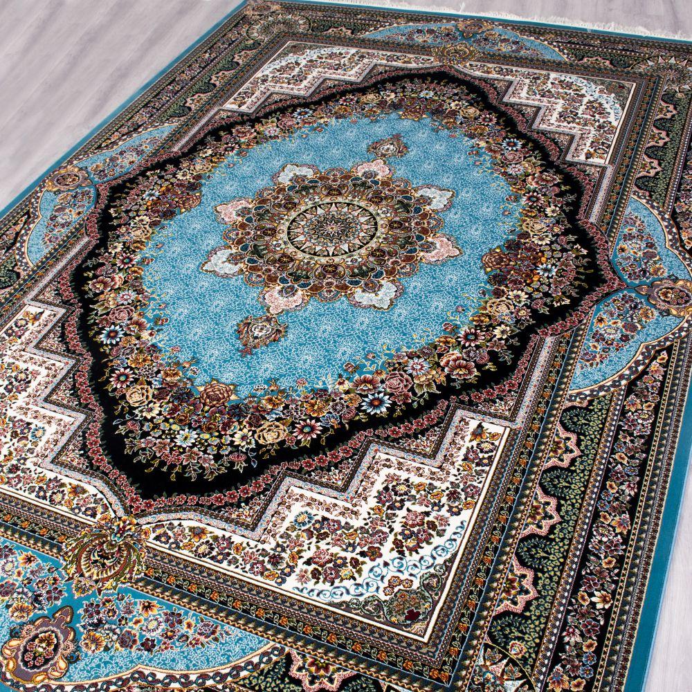 فرش بهشت آبی پرمیس 2