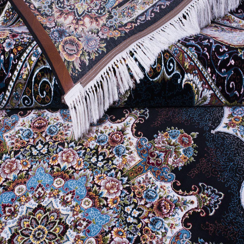 فرش نیلا سرمه ای پرمیس 3