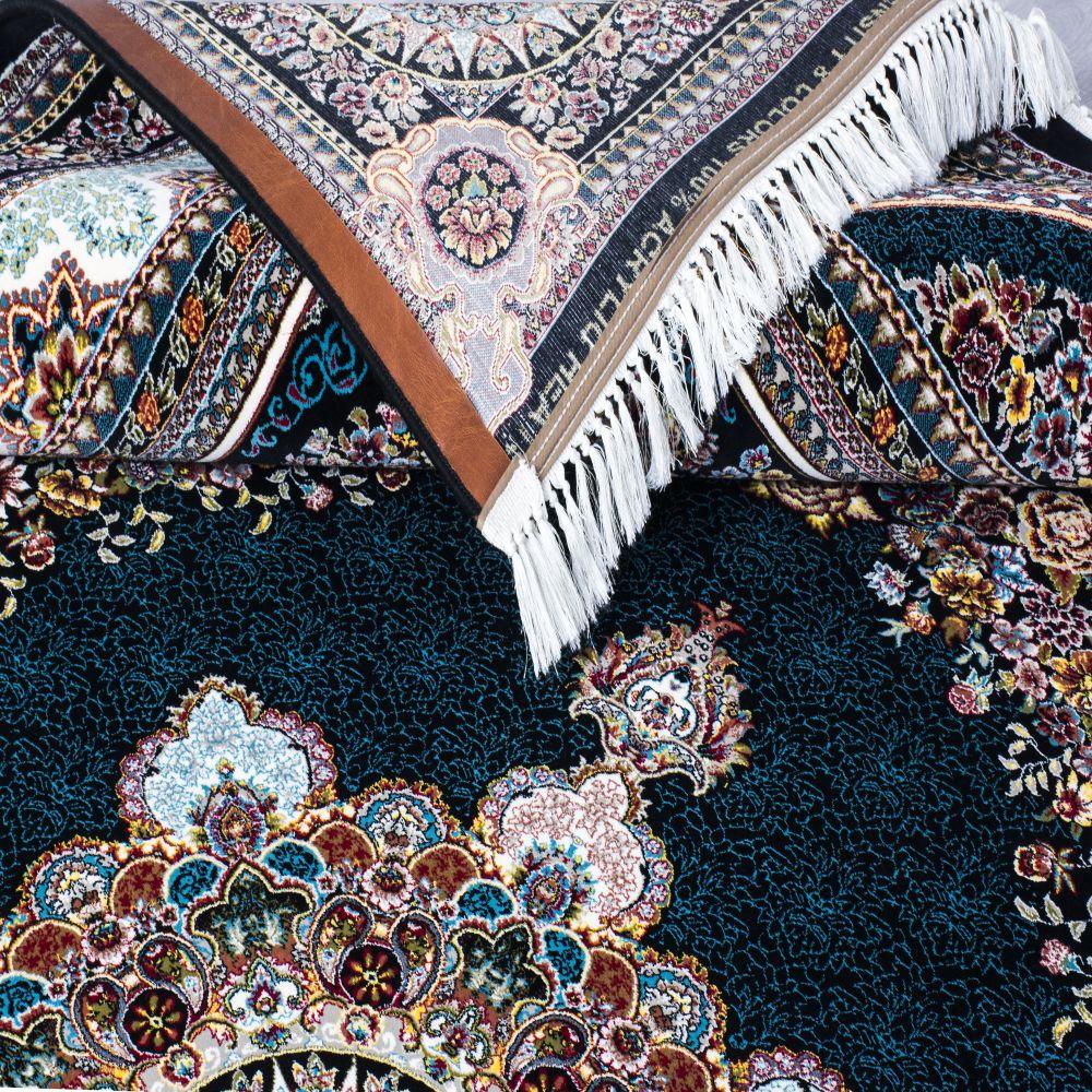 فرش بهشت سرمه ای پرمیس 3