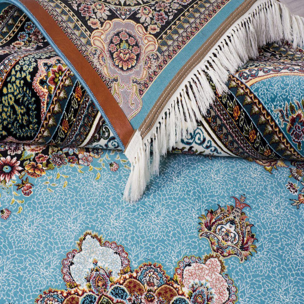 فرش بهشت آبی پرمیس 3