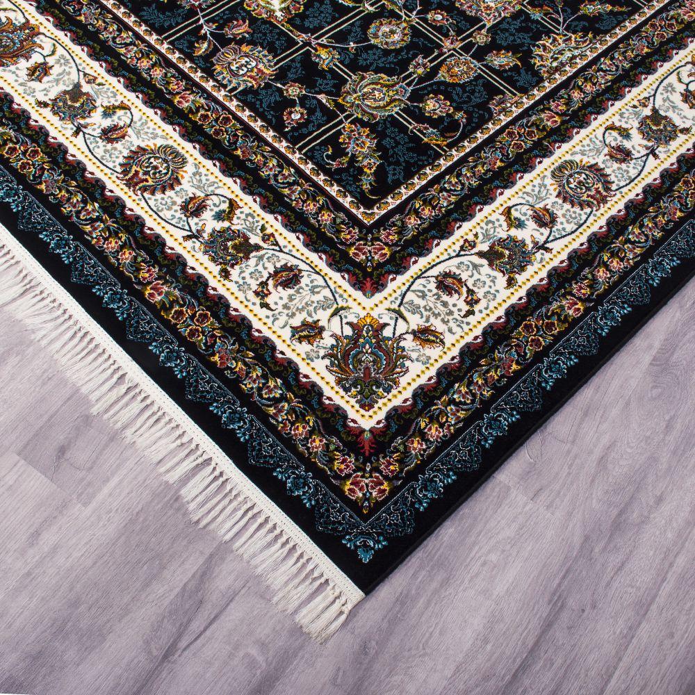 فرش کرشمه سورمه ای پرمیس 4