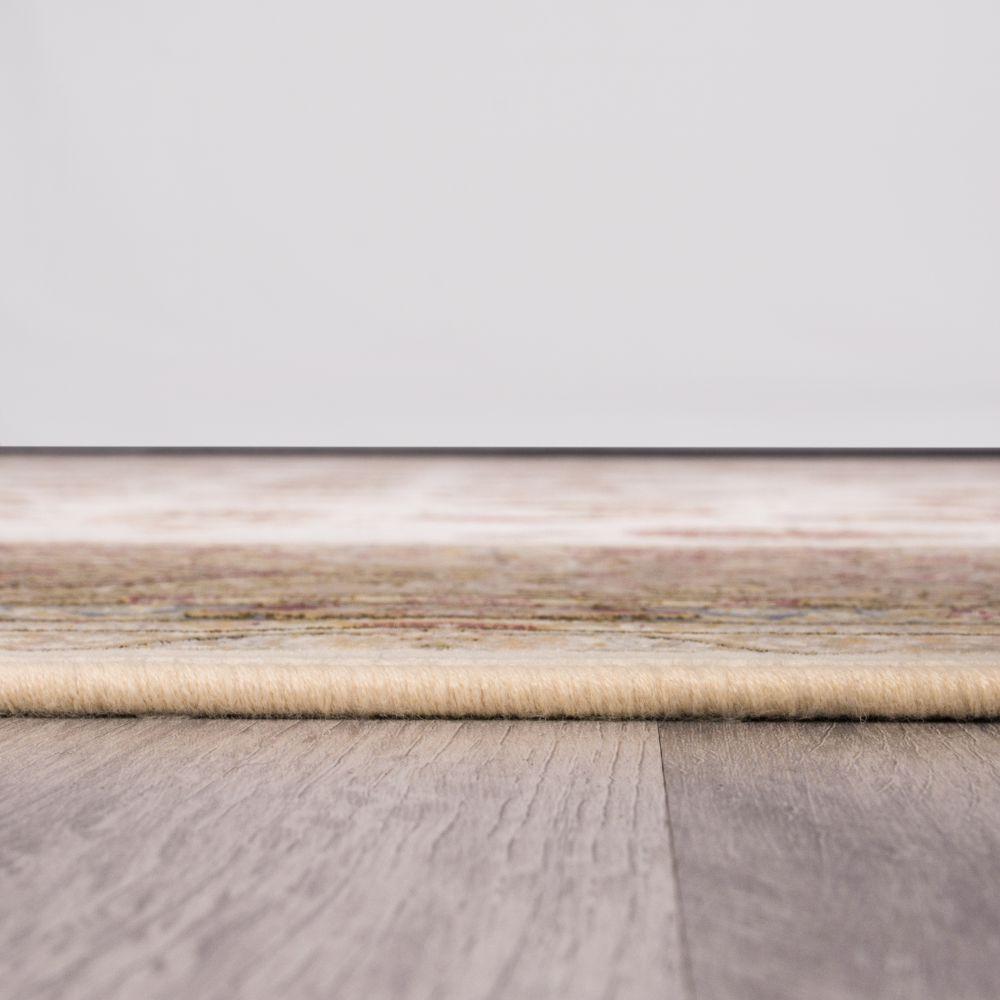 فرش ماشینی لاله کرم 4
