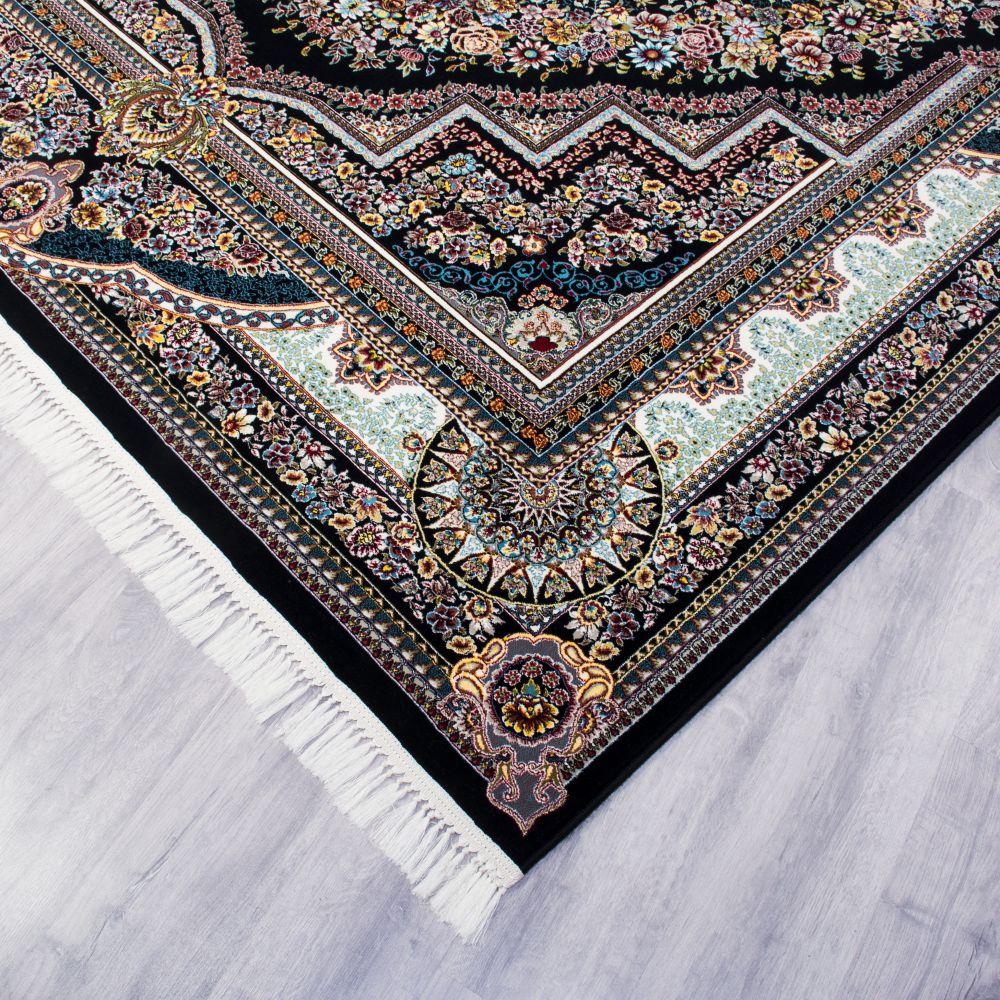فرش بهشت سرمه ای پرمیس 4