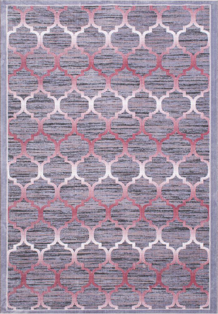 فرش نقره ای صورتی 1
