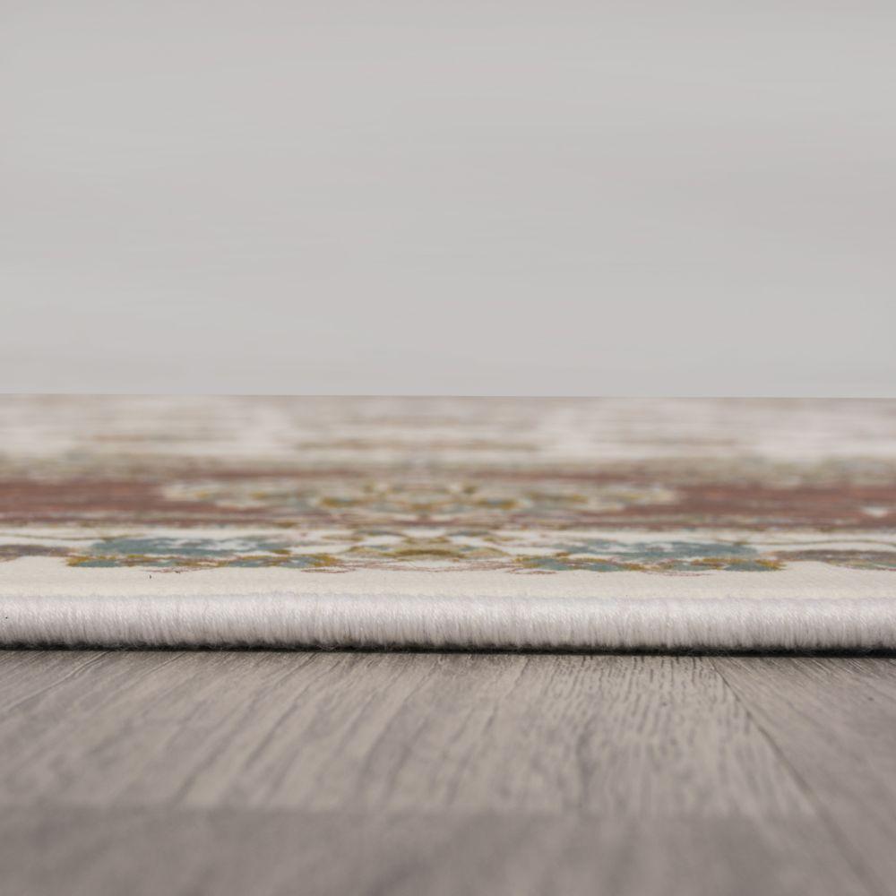 فرش ماشینی 1523 سفید 5
