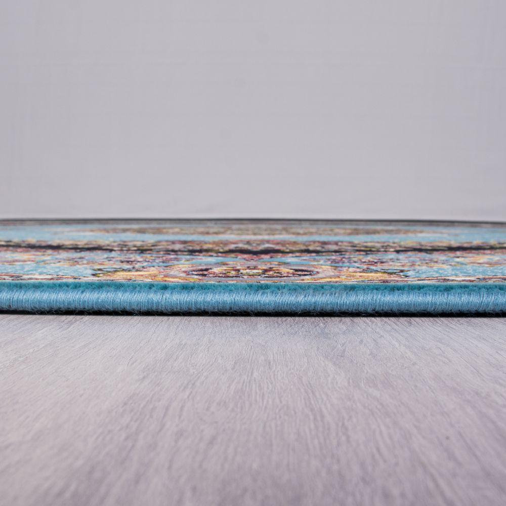 فرش بهشت آبی پرمیس 5