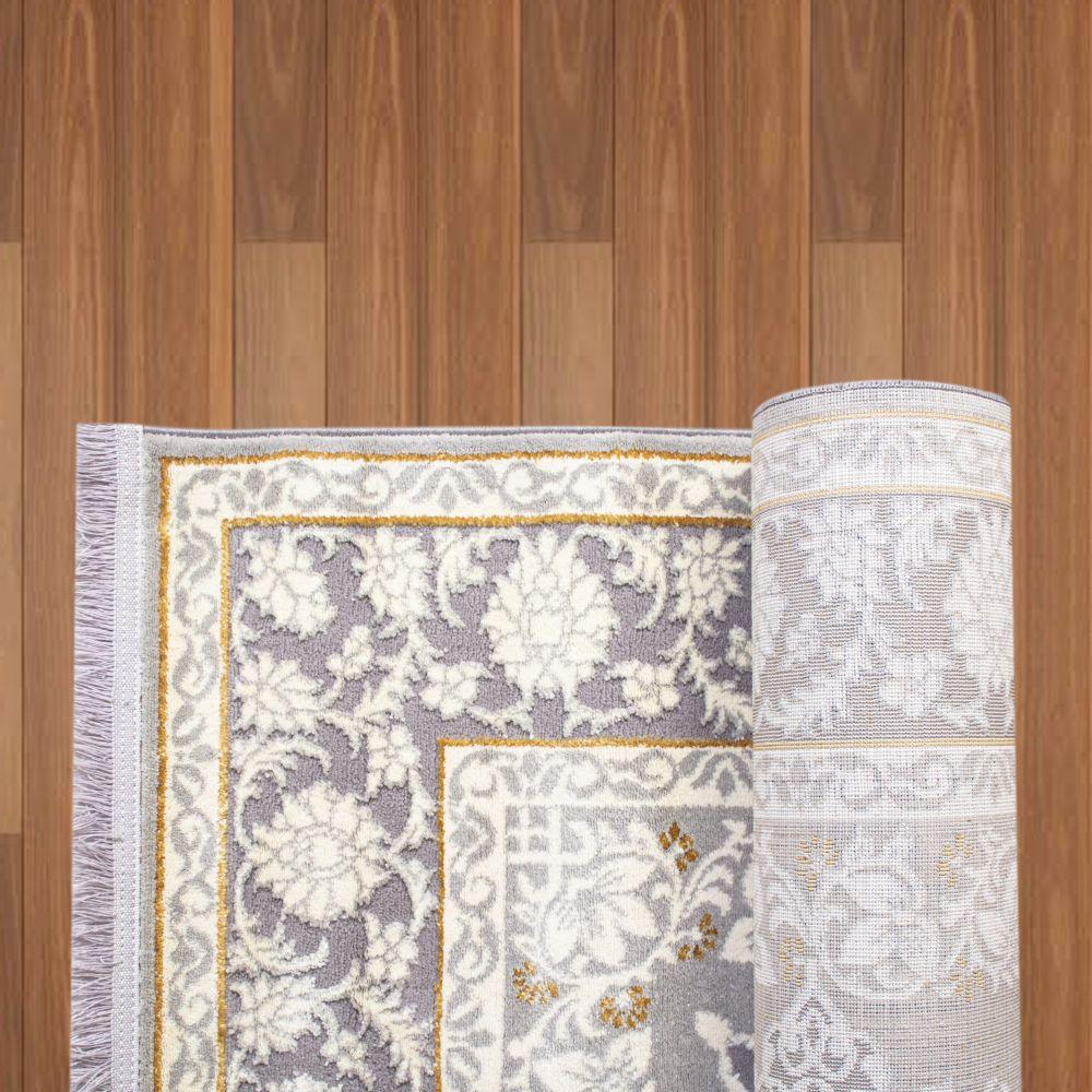 فرش فانتزی 6182 طوسی 3