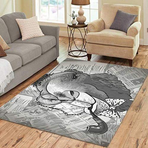 استفاده از فرش فانتزی در اتاق خواب