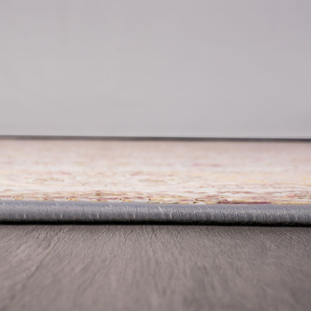 فرش ماشینی ارغوان آبی 5