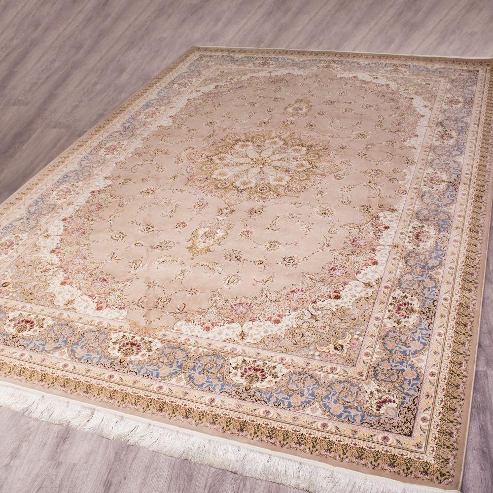 فرش اصفهان شکلاتی 2