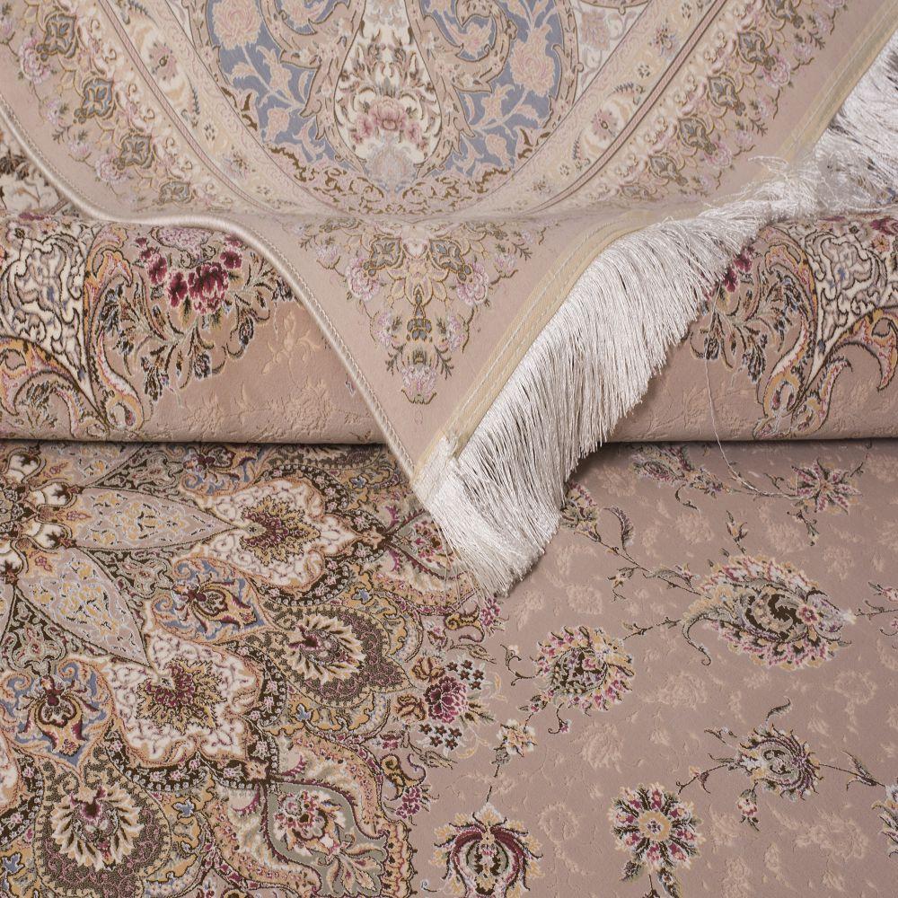 فرش اصفهان شکلاتی 3