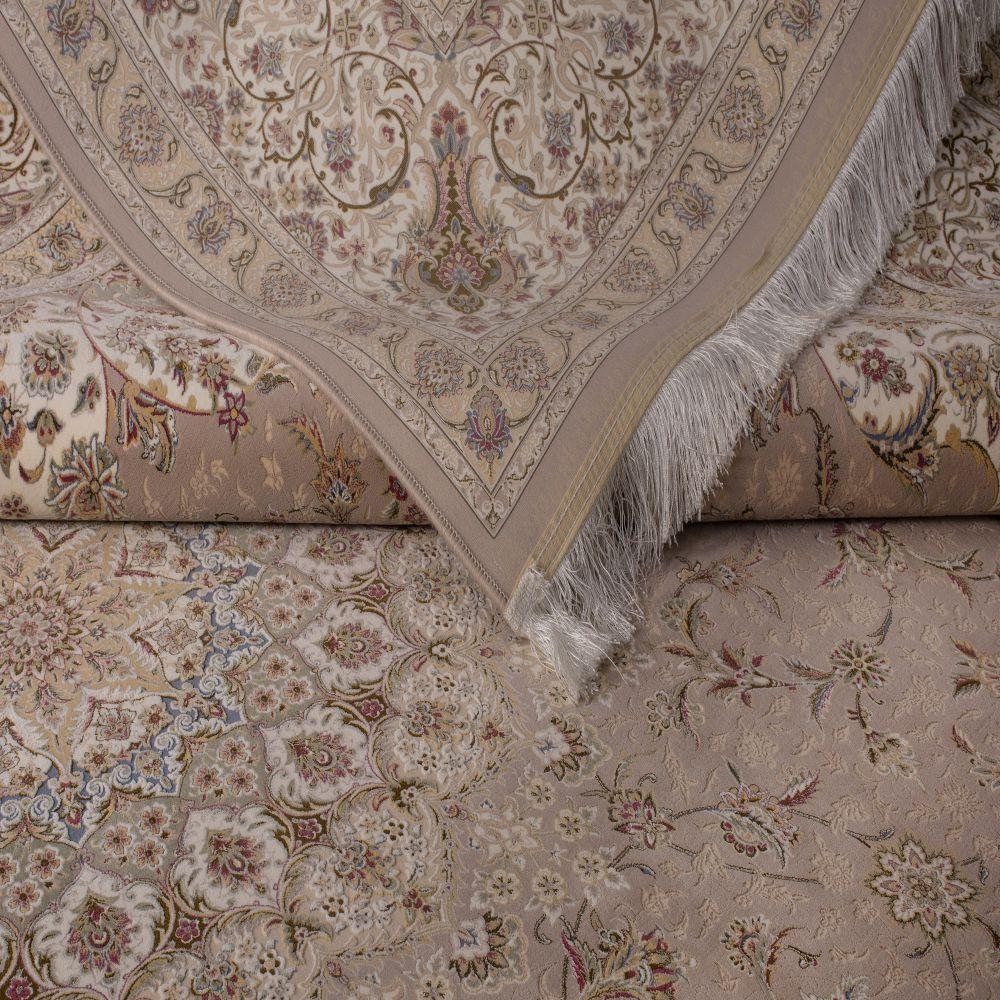 فرش ماشینی مستانه شکلاتی 3