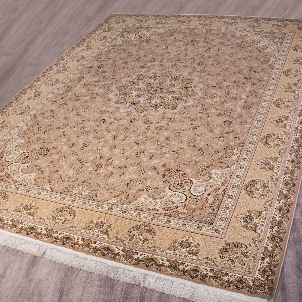 فرش ماشینی ارغوان شکلاتی 2