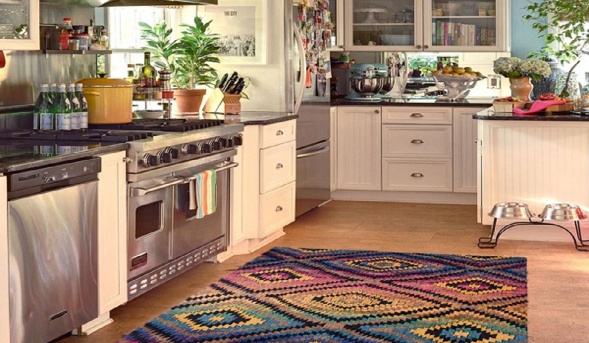 فرش آشپزخانه فانتزی 1