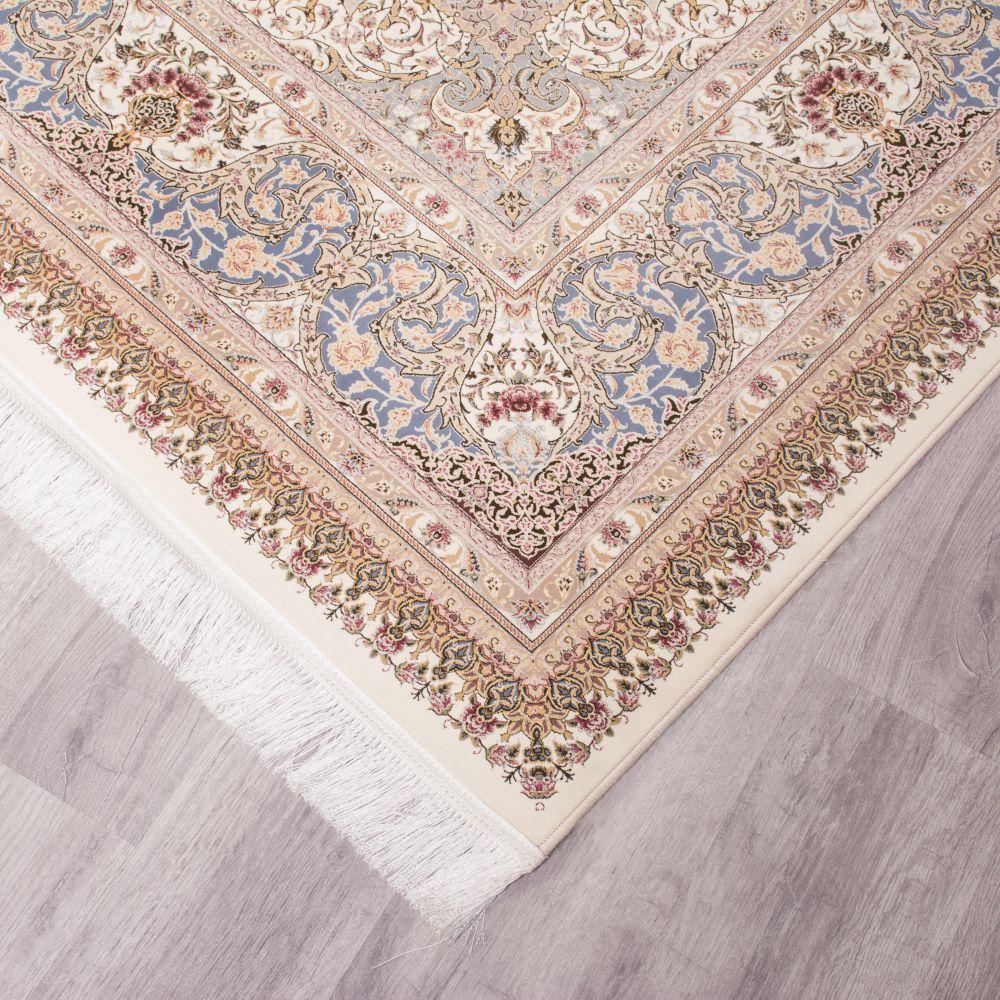 فرش ماشینی اصفهان کرم سفید 4