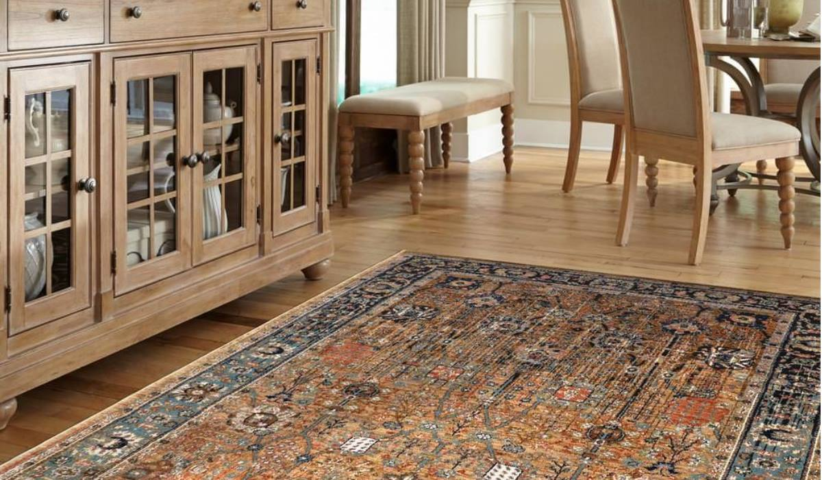فرش ماشینی دستباف نما پرفروش
