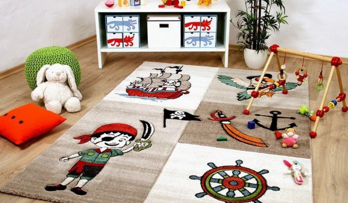 فرش اتاق کودک ترکیه ای