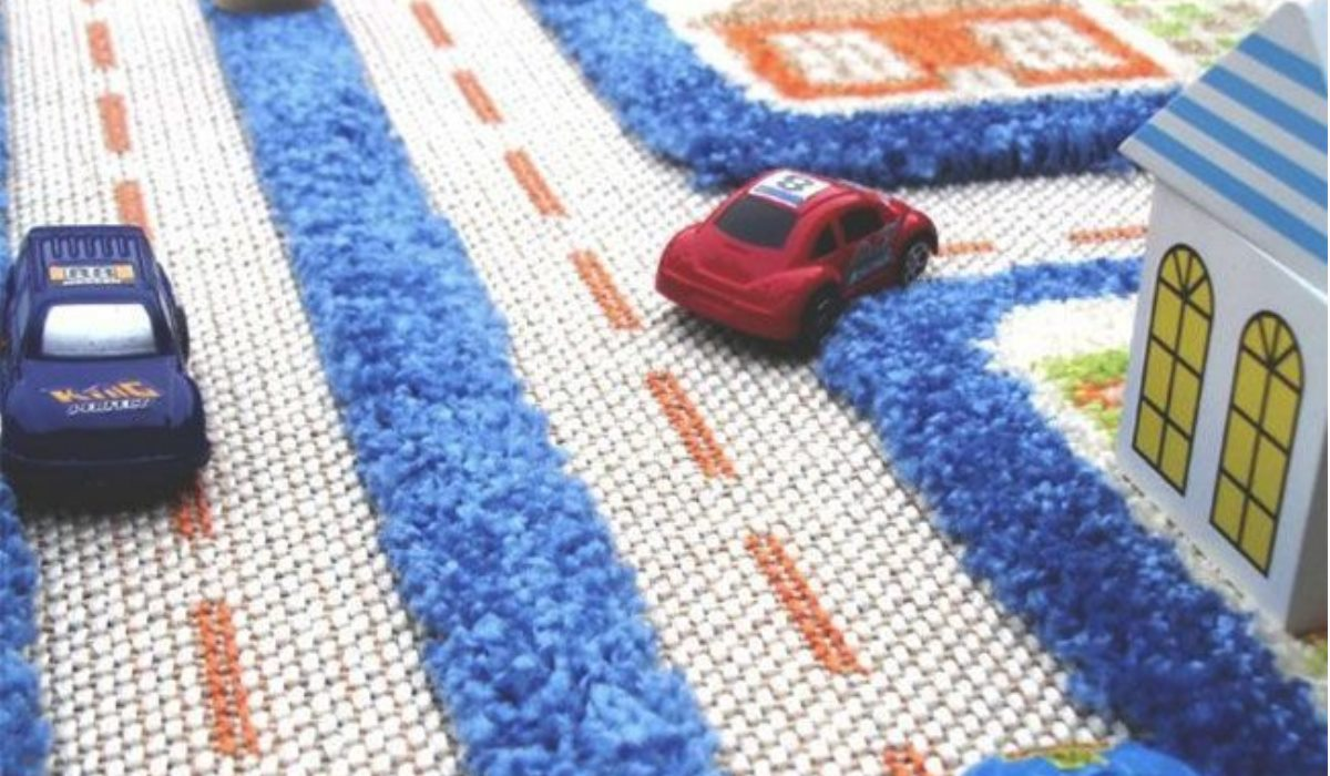 فرش اتاق پسرانه