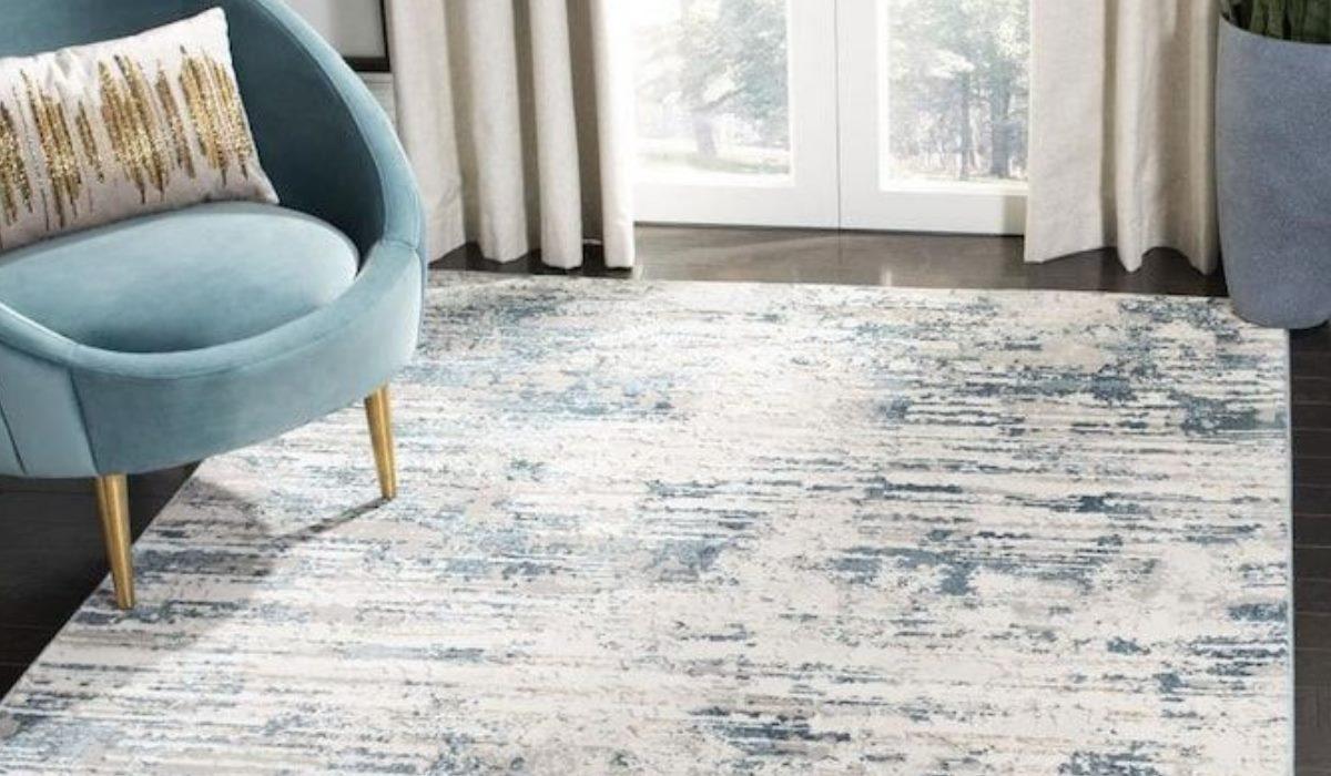 فرش ماشینی طرح ساده