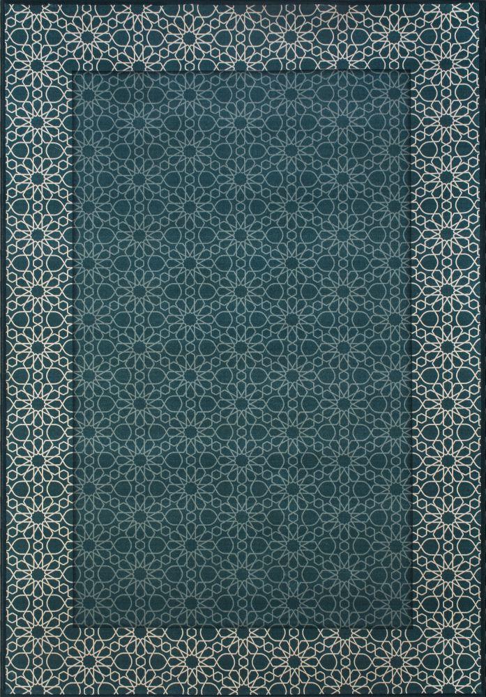 فرش فانتزی کلاریس 100475 آبی