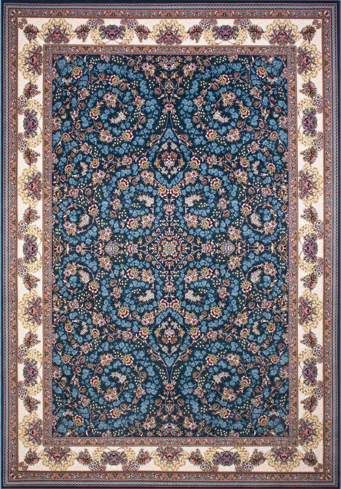 فرش ماشینی شاهان آبی