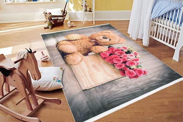 خرید فرش اتاق کودک پسرانه 1