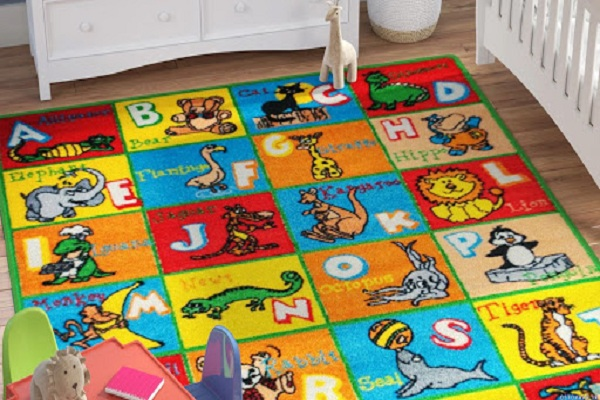 خرید فرش کودک پسرانه 3