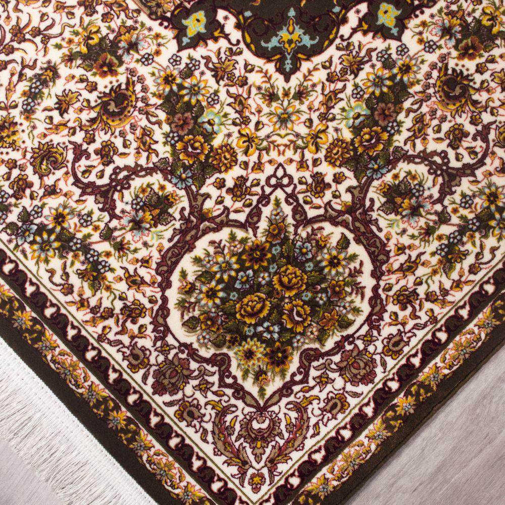فرش مدرن دستبافت نماکلاریس 100575 قهوه ای 3