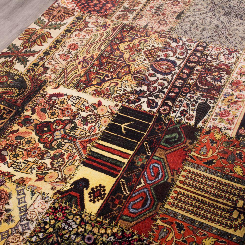 فرش فانتزی کلاریس 100224 تمام رنگ 2