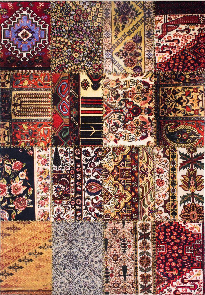 فرش فانتزی کلاریس 100224 تمام رنگ