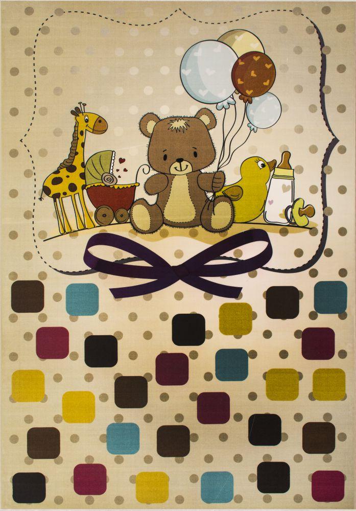 فرش کودک 100358 تمام رنگ