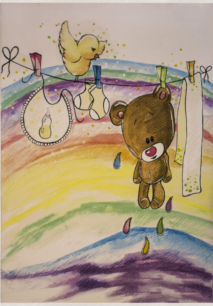 فرش کودک 100362 تمام رنگ