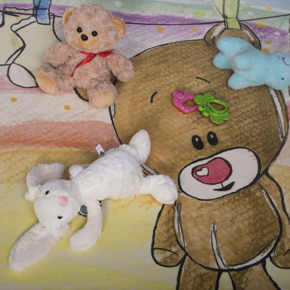 فرش کودک 100362 تمام رنگ 2