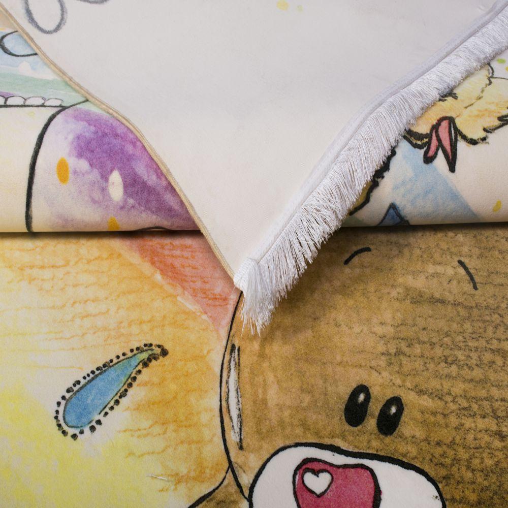فرش کودک 100362 تمام رنگ 3
