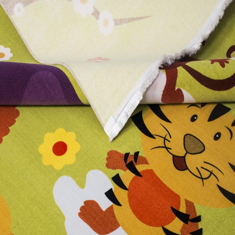 فرش کودک 100367 تمام رنگ 3