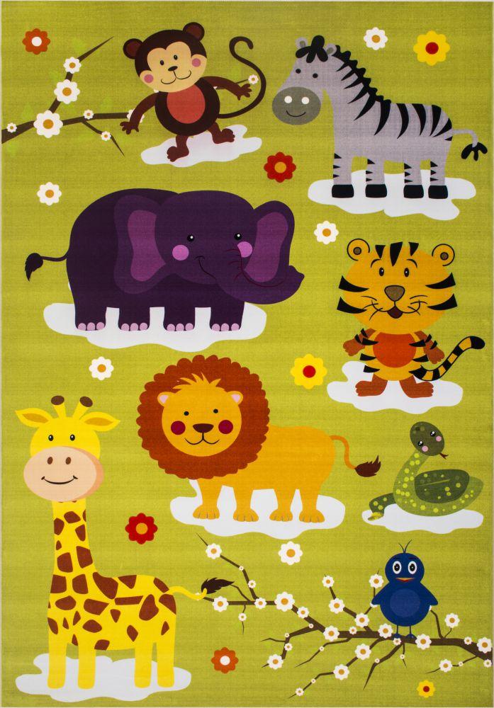 فرش کودک 100367 تمام رنگ