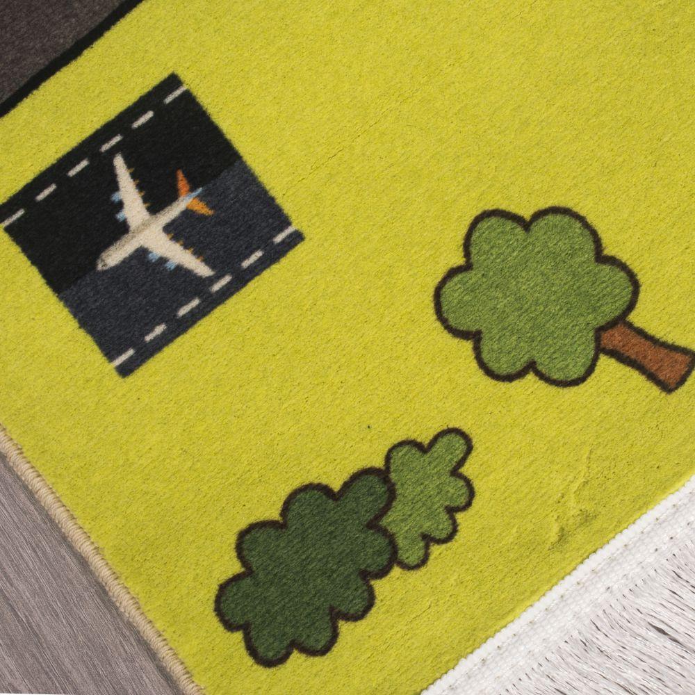فرش کودک کلاریس 100371 تمام رنگ 2
