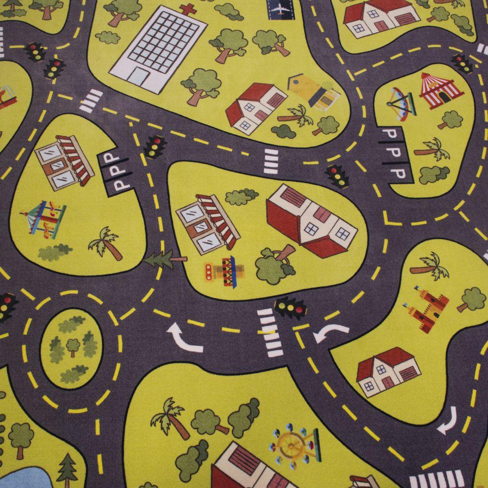 فرش کودک کلاریس 100371 تمام رنگ 3