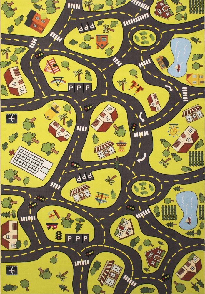 فرش کودک کلاریس 100371 تمام رنگ