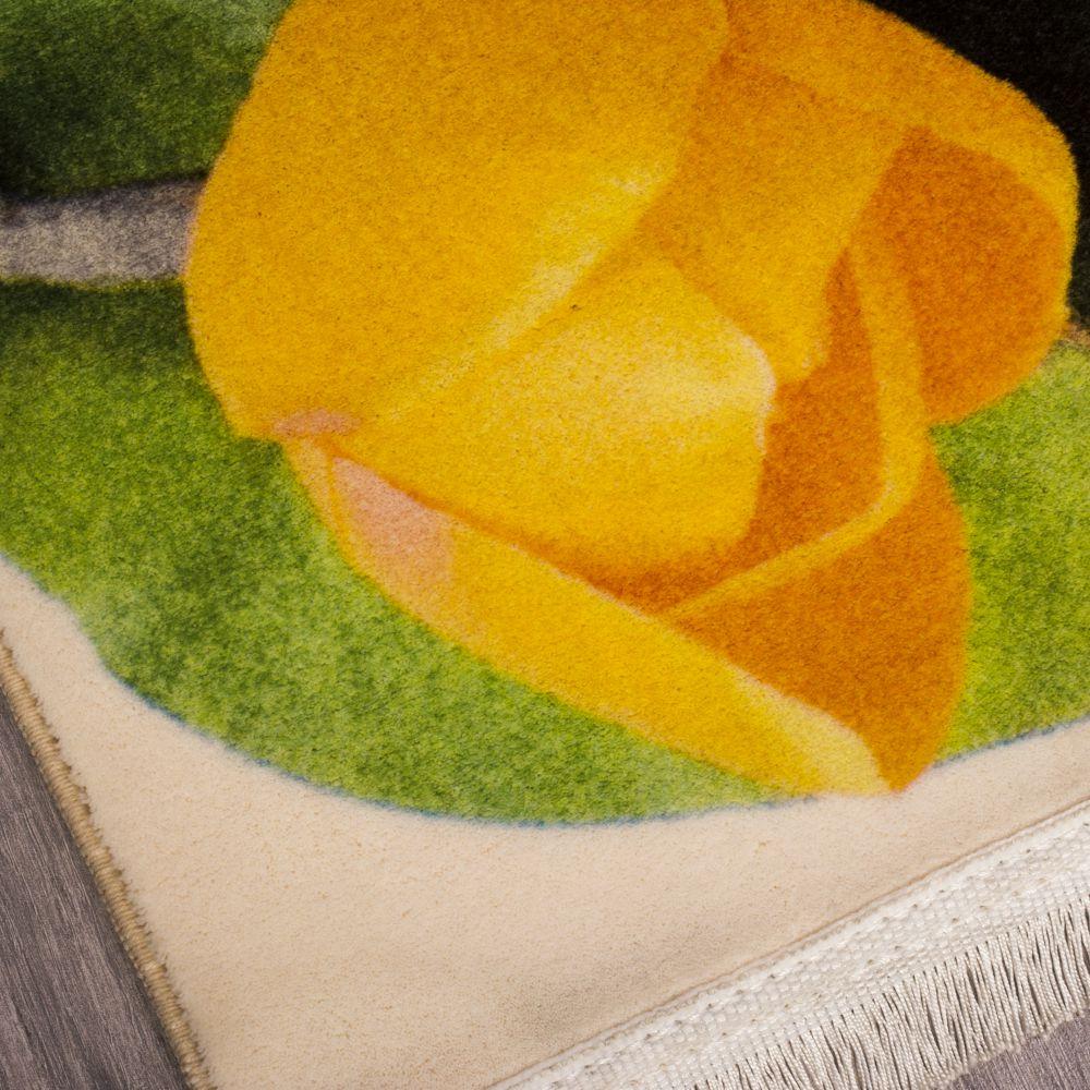 فرش فانتزی کلاریس 100571 تمام رنگ 3