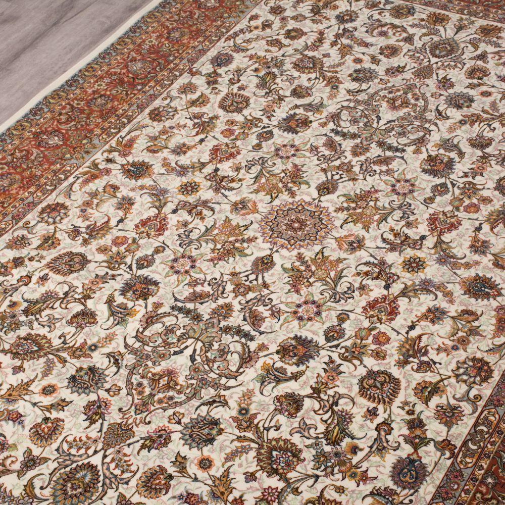 فرش ماشینی 100172 کرم 4