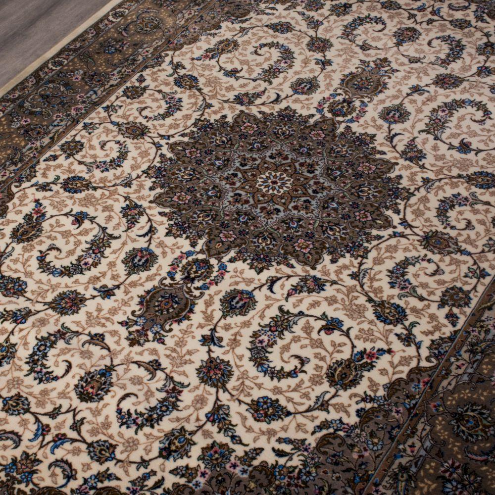 فرش مدرن دستبافت نما کلاریس 100534 کرم 3