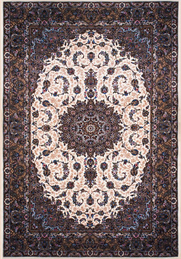 فرش مدرن دستبافت نما کلاریس 100534 کرم